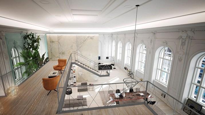 wohnen und arbeiten neue nutzung f r alte telegrafen mter luxusimmobilien. Black Bedroom Furniture Sets. Home Design Ideas