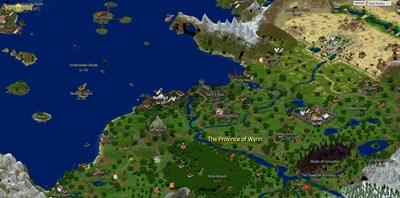 Wynncraft Spieler Bauen Riesiges OnlineRollenspiel In Minecraft - Minecraft spieler online