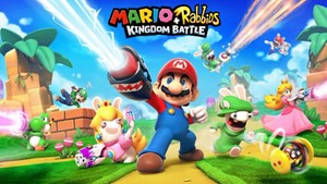 "Das geleakte Artwork zu ""Mario + Rabbids Kingdom Battle""."
