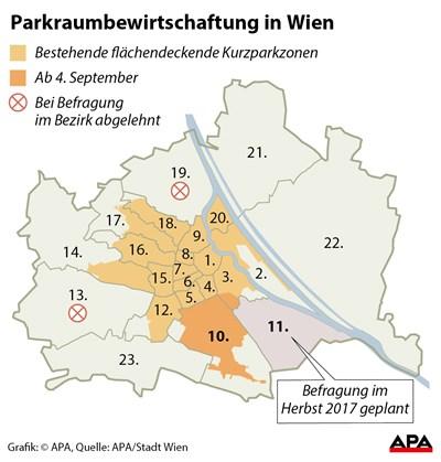 Anträge Für Parkpickerl In Wien Favoriten Ab 1 Juni Möglich 10