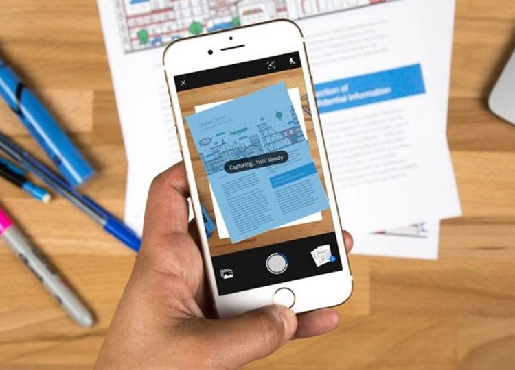 Adobe Scan App Erkennt Text Und Erstellt Pdfs Am Handy