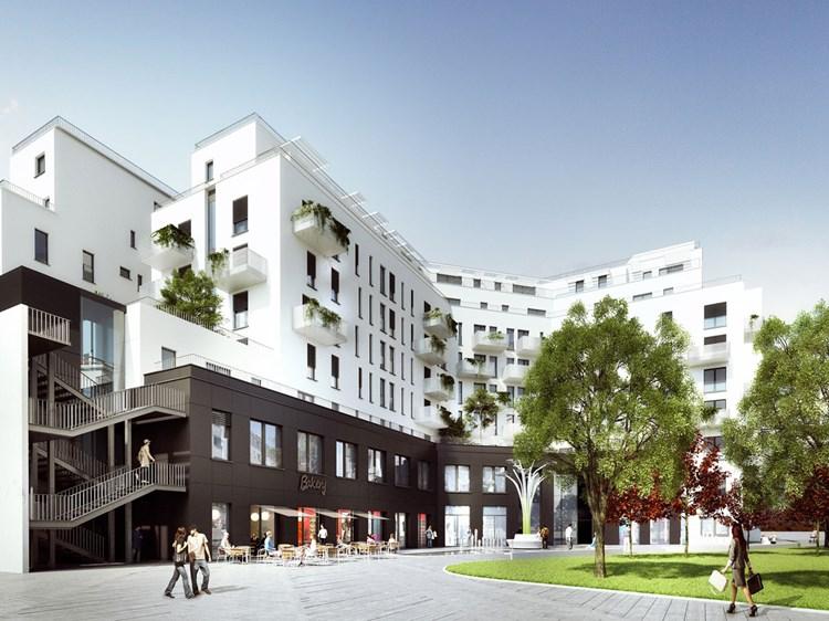 Althan Park Taufe Für 6b47 Projekt Wohnen In Und Um Wien