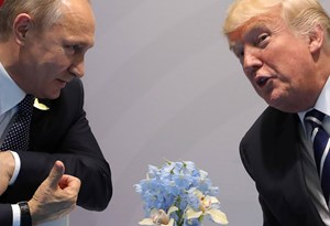 Putin und Trump in Hamburg