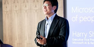 Harry Shum, Executive Vice-President AI und Research Group bei Microsoft.