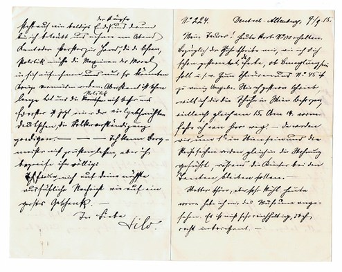 Herzliebchen Mein Liebesbriefe Im Wandel Der Zeit Forschung