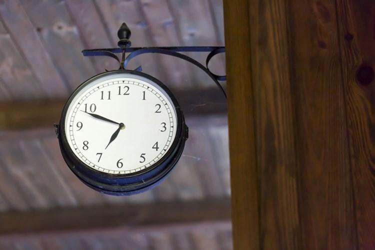 Zeitvorstellungen vor und nach dem Abnehmen