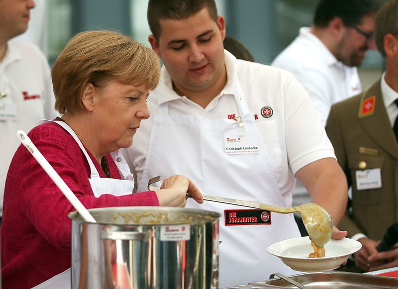Merkel Kartoffelsuppe