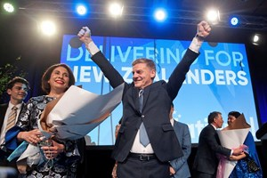 Premierminister Bill English braucht einen Koalitionspartner.