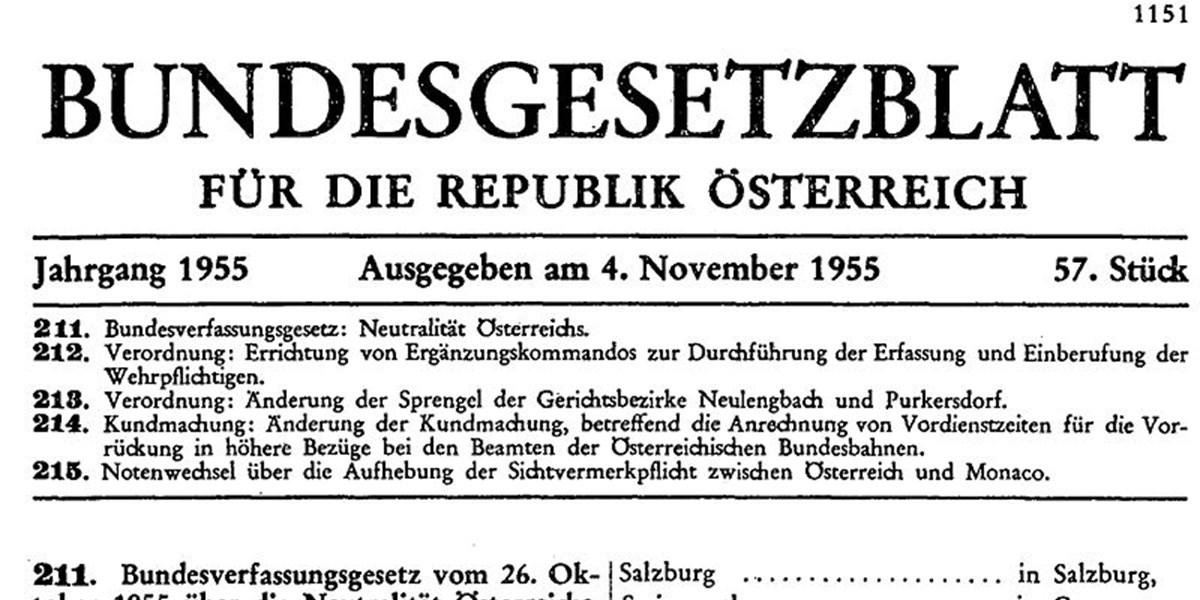 Thomas Roithner Eine Geburtstagsrede Auf Die Neutralität