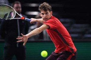 Bleibt in Paris am Ball: Dominic Thiem.