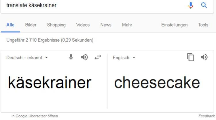 google übersetzer deutsch in englisch