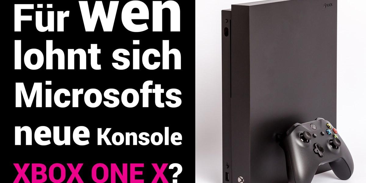 Games Xbox One X Videotest Für Wen Lohnt Sich Die Bisher Stärkste