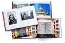aufschlagseiten der beschriebenen bildbände. fotografie: lukas friesenbichler