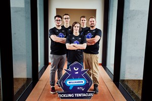 Das E-Sports-Team Tickling Tentacles Willhaben.