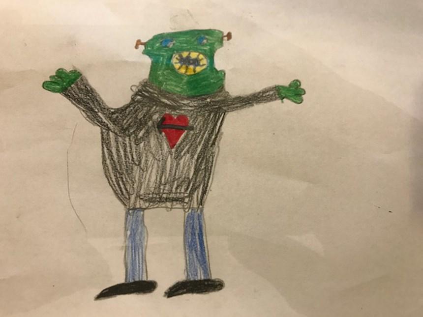 Userfotos Kinderzeichnungen Horror Und Grusel Monsterzeichnungen