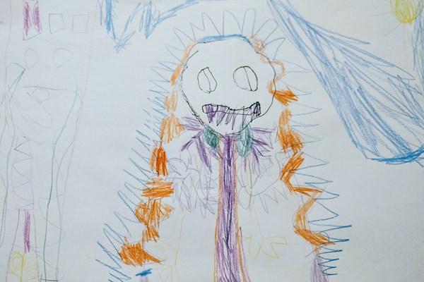 Horror Und Grusel Monsterzeichnungen Von Kinderhand Mitreden