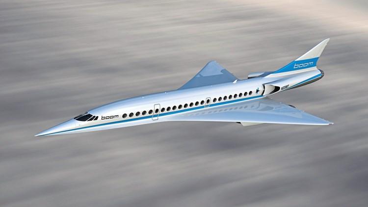 Neues überschallflugzeug