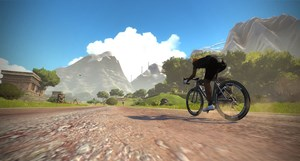 Einblick in Zwift