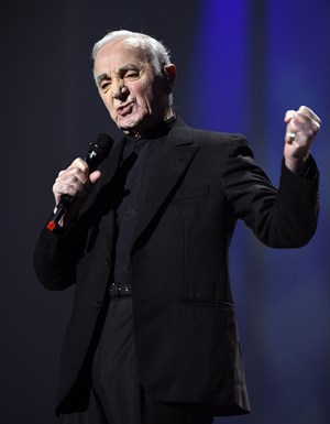 Gut in Form: Charles Aznavour.