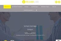 screenshot: yellowlaw.at