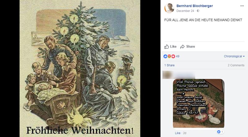 Weihnachtsgrüße Für Handys.Fpö Gemeinderat Schickt Weihnachtsgrüße Mit Nazi Propaganda Fpö