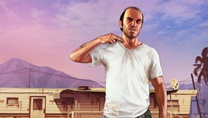 """GTA 5""-Protagonist Trevor Phillips."