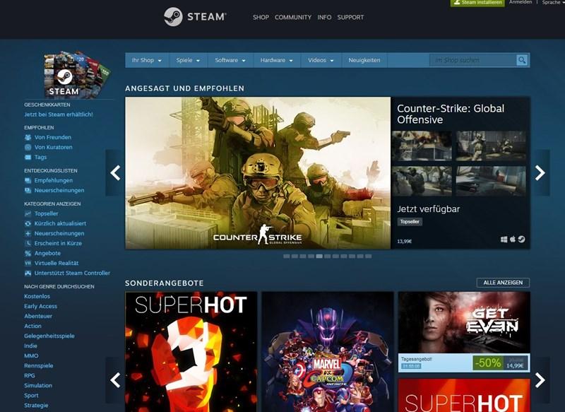 games vertriebsplattform steam soll bald deutlich anders aussehen - fortnite farbenblind einstellung