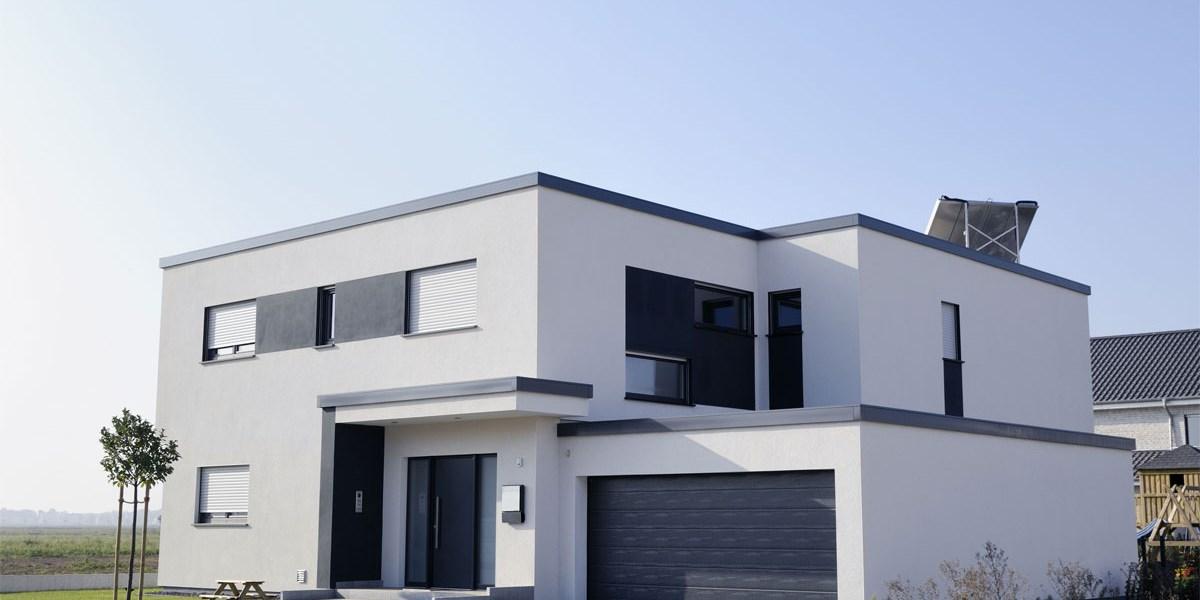 haben sie sich f r ein steil oder ein flachdach entschieden bauen wohnen. Black Bedroom Furniture Sets. Home Design Ideas