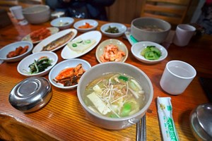 Suppe in Süd-Korea.