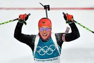 Laura Dahlmeier Superstar.
