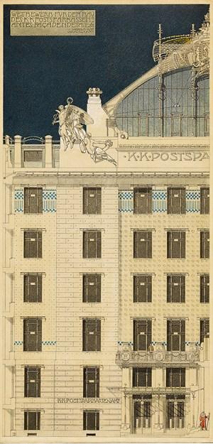 Otto wagner der erfinder des 20 jahrhunderts - Gesamtwerk architektur ...