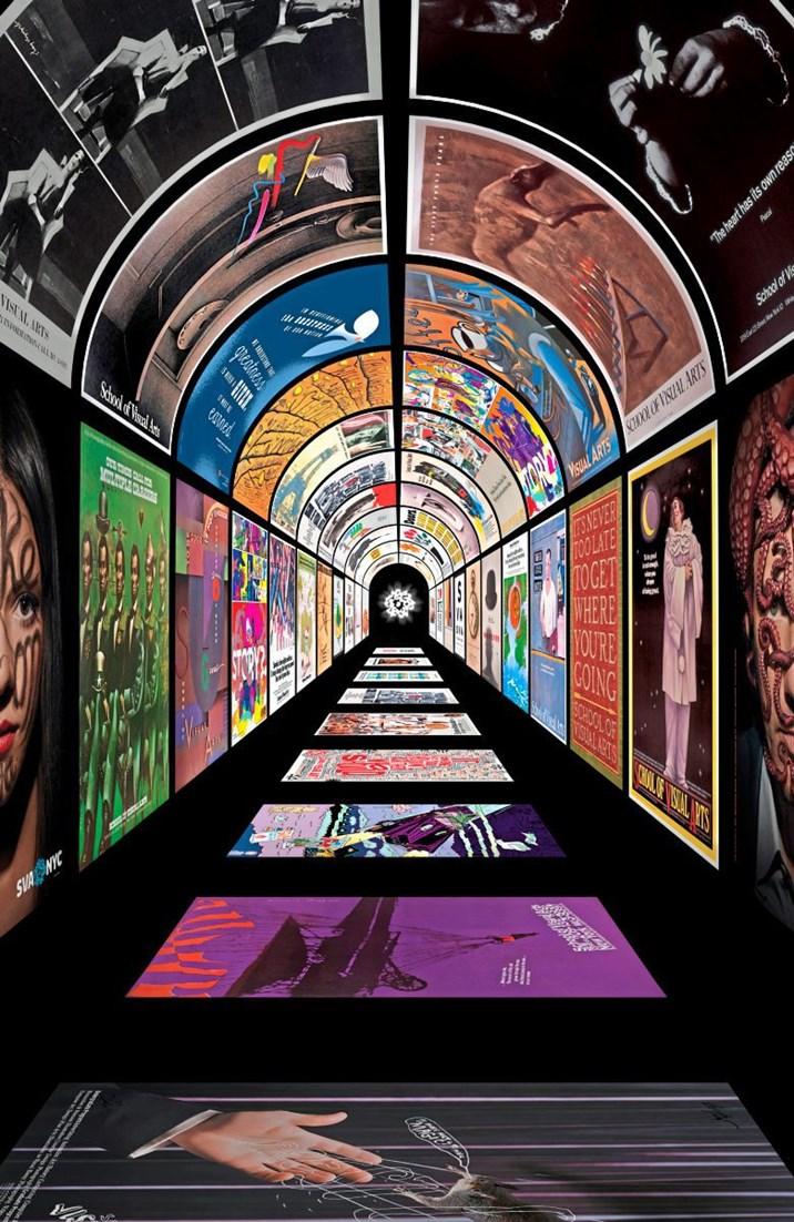 Ausstellung: U-Bahn-Poster Der School Of Visual Arts New