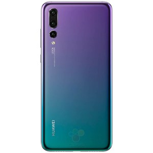 "Das P20 Pro in der Farbvariante ""Twilight""."