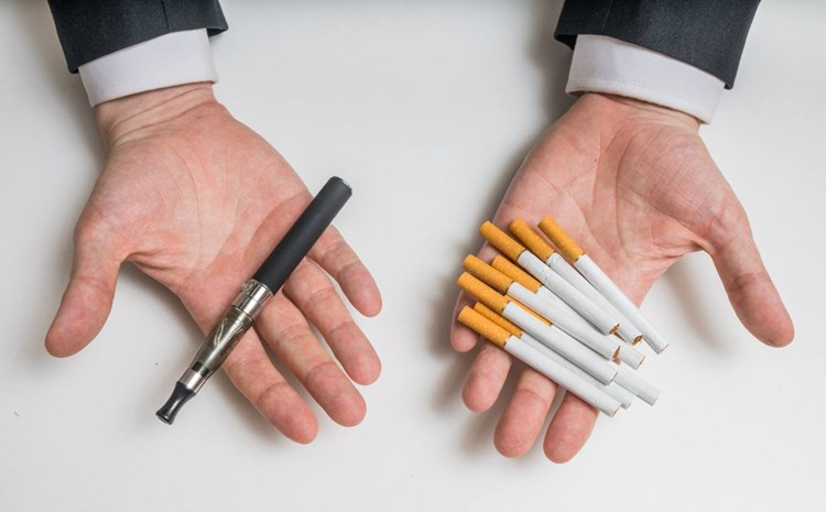 e zigarette vs zigarette