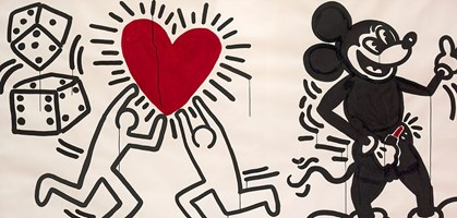 foto: courtesy the brant foundation, greenwich, connecticut, usa © the keith haring foundation