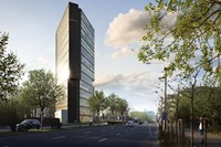 visualisierung: ana tower offices srl