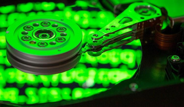 Datenträger 100 Prozent Auslastung