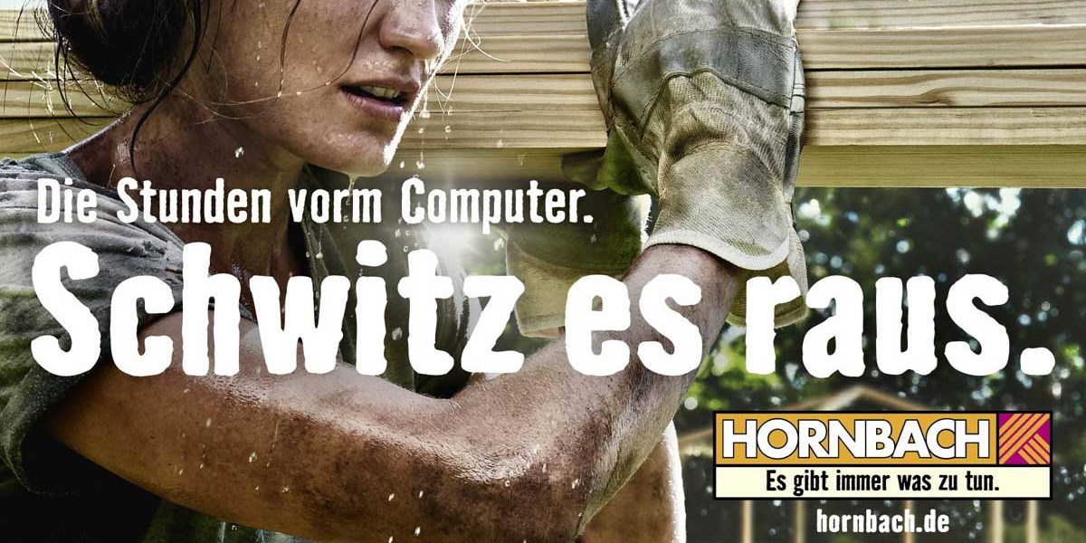 Hornbach Slogan