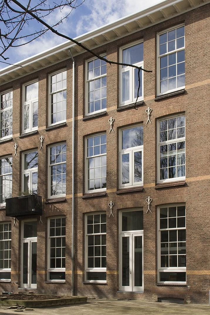 haus renovierung altbau london wird vier reihenhauser verwandelt, rotterdam: moderne loftwohnung in alter schule - architektur & stadt, Design ideen