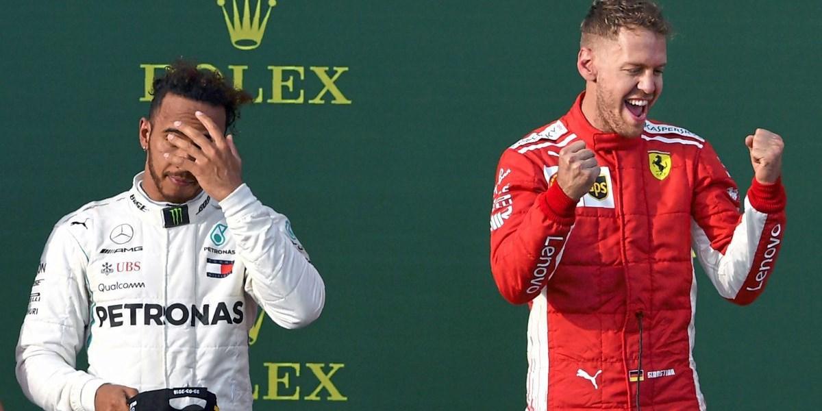 Vettel Gewinnt In Melbourne Vor Hamilton Formel 1 Derstandard At