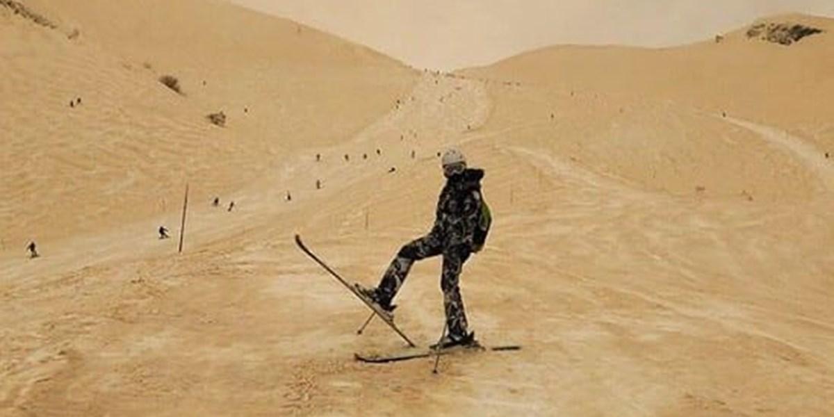 Wüstenwind Saharastaub Sorgt Für Marslandschaften In Osteuropa