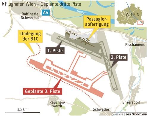Nicht Einmal Flughafen Wien Rechnet Mit Dritter Piste Vor 2030