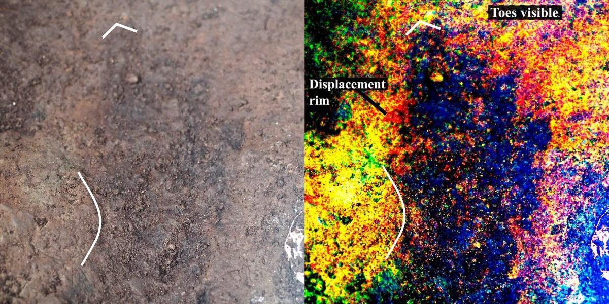 13.000 Jahre alte menschliche Fußabdrücke in Kanada entdeckt