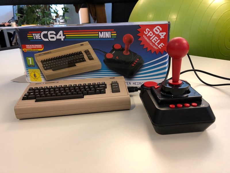 C64 Mini angespielt: Augenöffnende Zeitreise für junge Gamer
