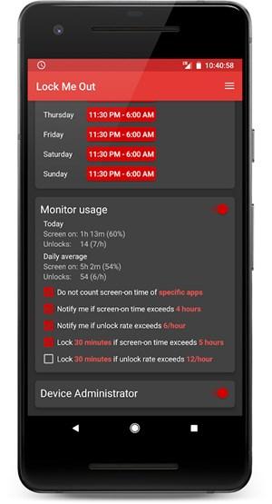 lock me out kostenlose android app soll smartphone sucht im zaum halten apps derstandard. Black Bedroom Furniture Sets. Home Design Ideas