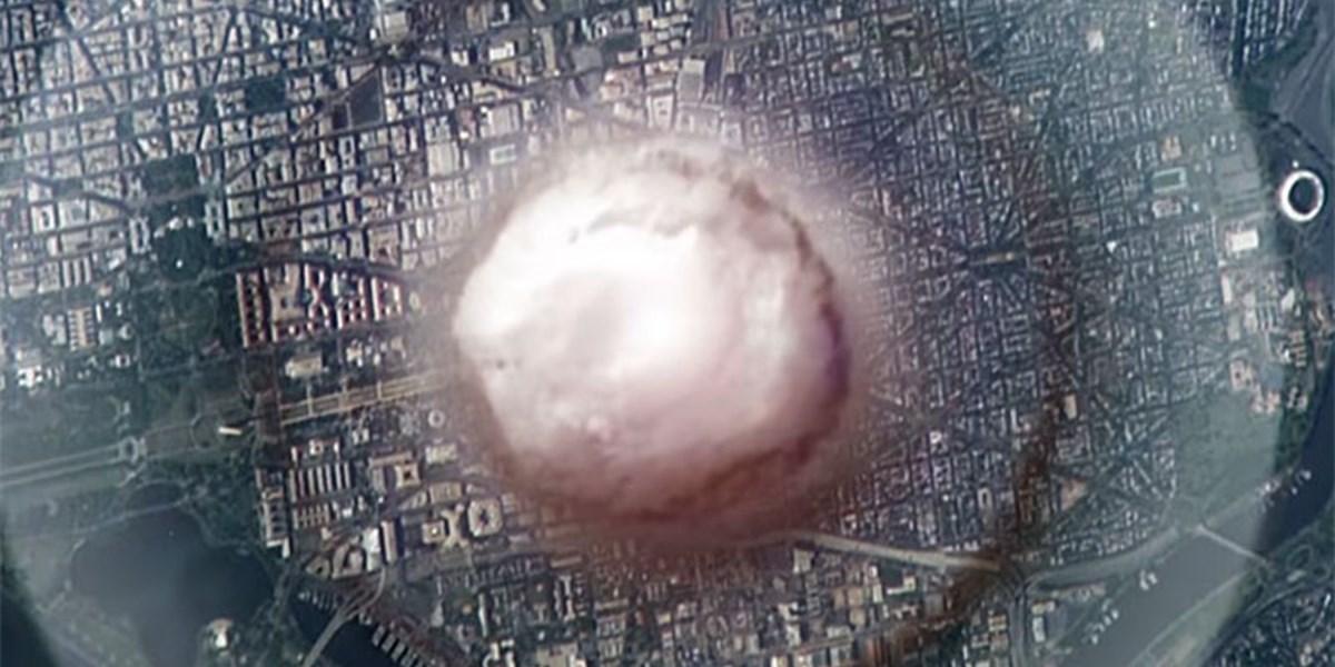 Simulation: Wenn in Washington, D.C eine Atombombe hochgeht