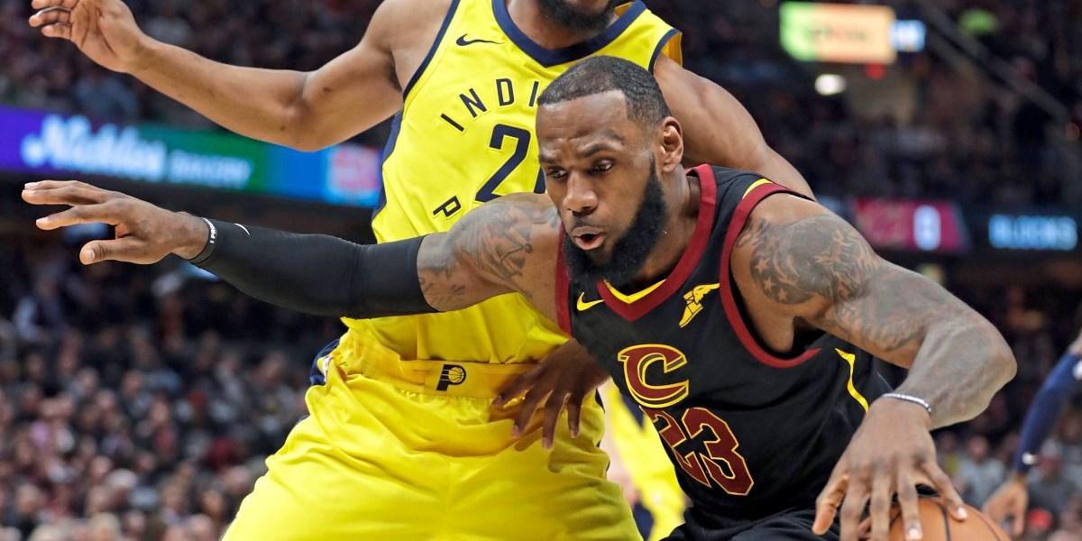 James führt Cleveland mit 46 Punkten zum Ausgleich - Basketball: NBA ...