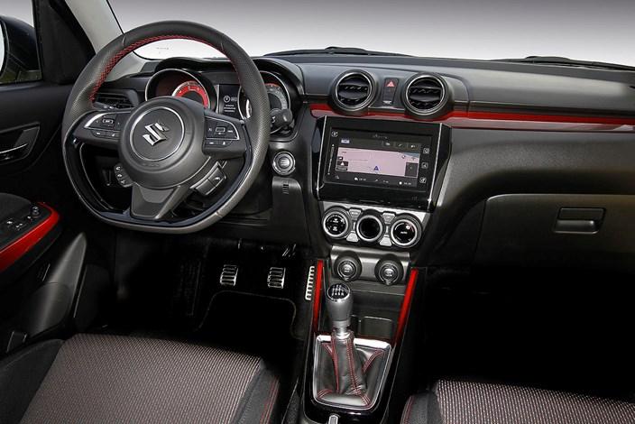Foto Suzuki Der Innenraum Des Swift