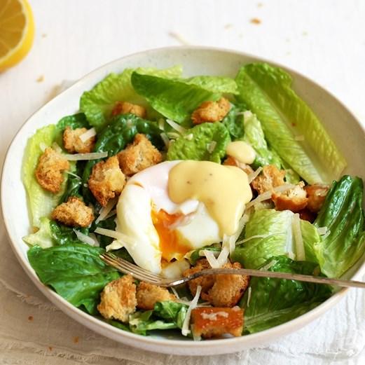 rezept caesar salad usa essbar lifestyle. Black Bedroom Furniture Sets. Home Design Ideas