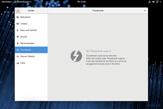 Image result for fedora thunderbolt